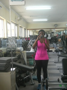 At the gym Arusha 2012