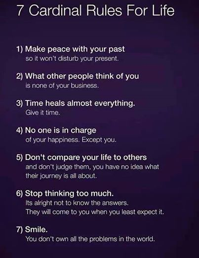 Great Rules for Life ...