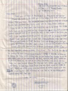 Alain's letter of 20 feb 2014