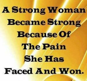 A strong woman is a powerful woman