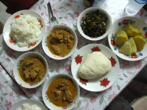 Cameroon-Fufu