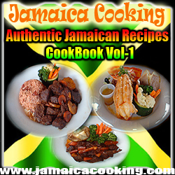 Authentic Jamaican Cuisine it says
