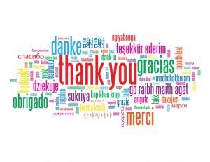 Gratitude all the way