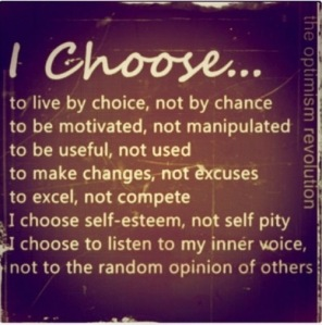 This is my choice