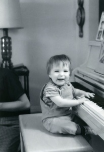 A passion for the piano right from birth