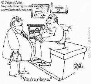 Who is obese now?