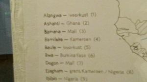 Kameroen is number 4 - yeah!!!