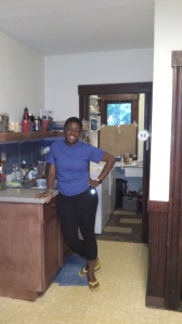 Pammy's Kitchen which I had cleaned up to my big satisfaction