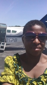 Selfie infront of the Cessna