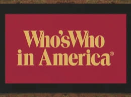 who is who in America?