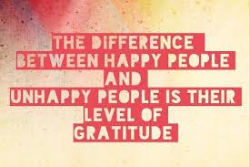 am so full of Gratitude