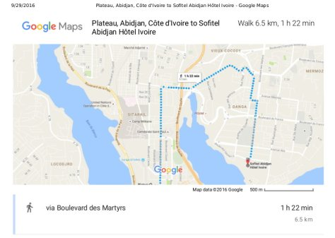 plateau-abidjan-cote-divoire-to-sofitel-abidjan-hotel-ivoire-google-maps