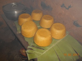 Corn flour cakes, typically eaten with vegetables yummy