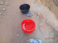 The red bucket is mine of course