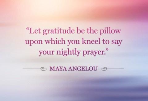 Gratitude post by Maya