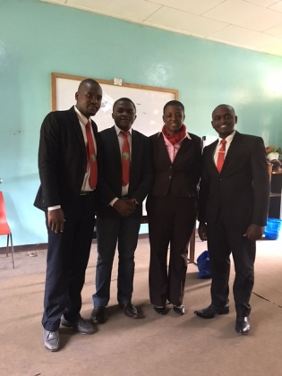 With some students at PaidWa