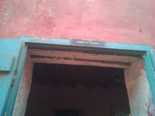 Weighing room, any slave less than 60 kg had 3 days to weigh up or ...
