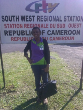 At the CRTV (Cameroon Radio and Television) Regional Station