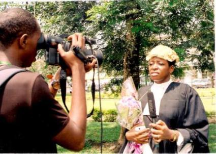 Interviewed by a TV network on swearing in day: am I interviewlicious or what lol?