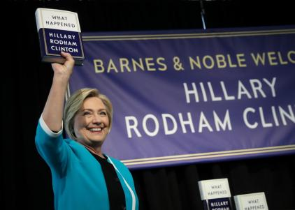 Hillary-Clinton-Signs-Copies-Of-Her-New-Book-What-Happened