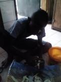 David peeling yams