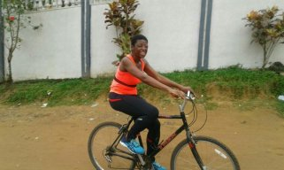 So I could ride Alain's bicycle as much as I wanted, and for free lol