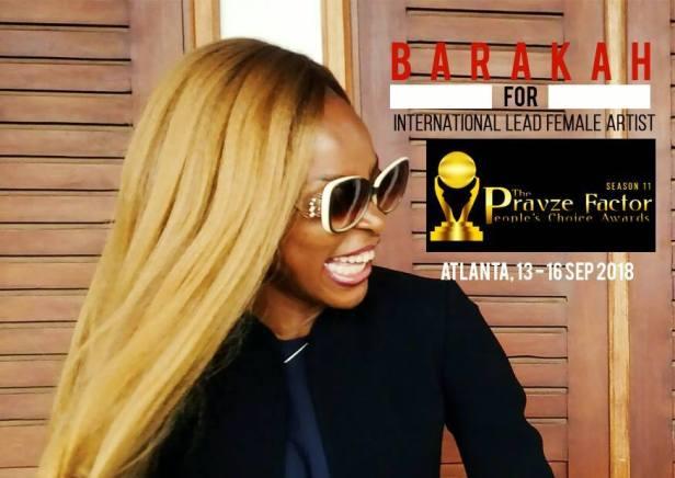 BB for lead female Gospel Singer