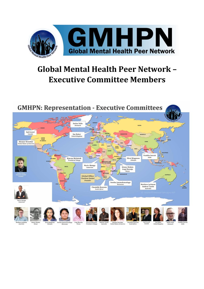 GMHPN EXEC Committees