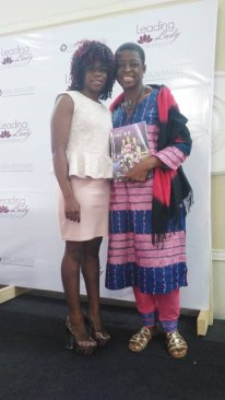 Yensi and I at the LLC Yaounde
