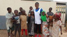 Otang and Street kids